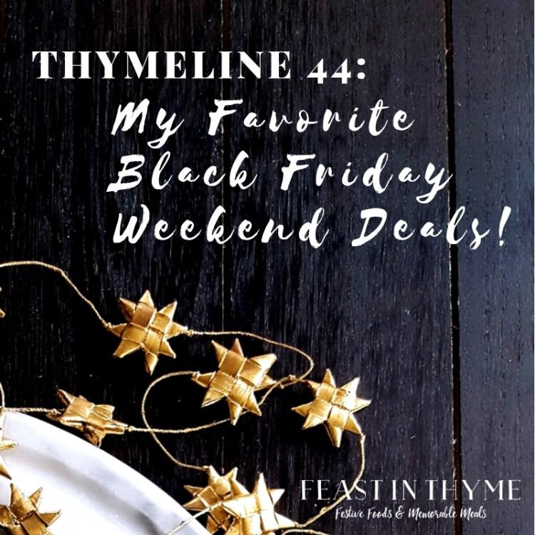 Thymeline 44 | FeastInThyme.com