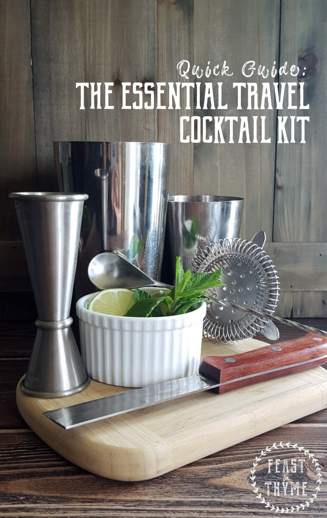 A Guide to the Essential Travel Cocktail Kit