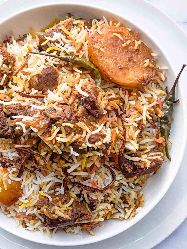 How to make Mutton Biryani.