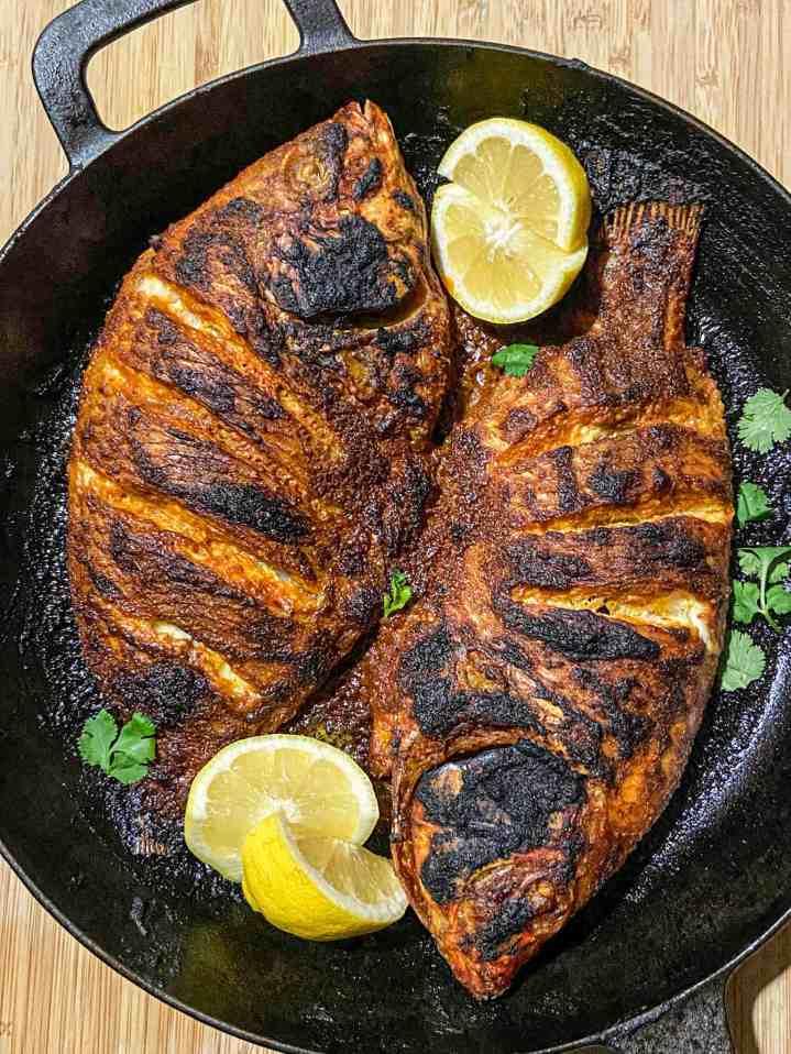 Whole Tilapia Fish Recipe.