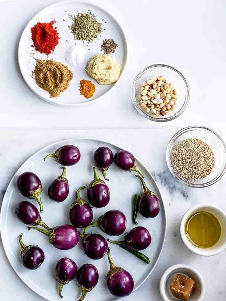 Tips to pick good eggplants.