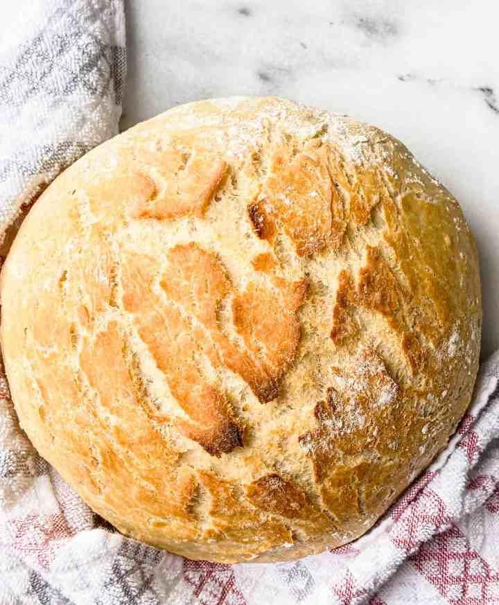The Best No-Knead Bread Recipe.