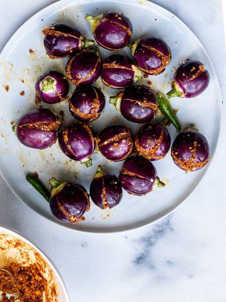 How to stuff Eggplant?