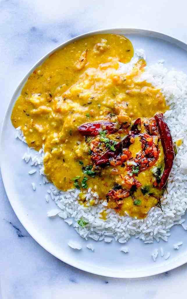 Punjabi Dal tadka recipe. Dal fry recipe.