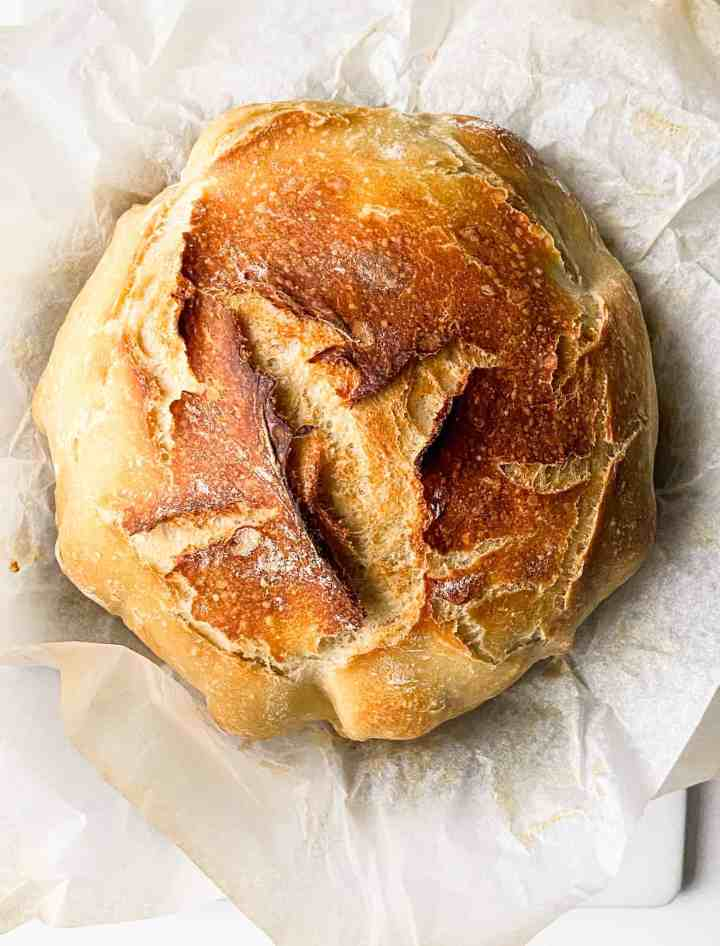 no knead artisan bread recipe.