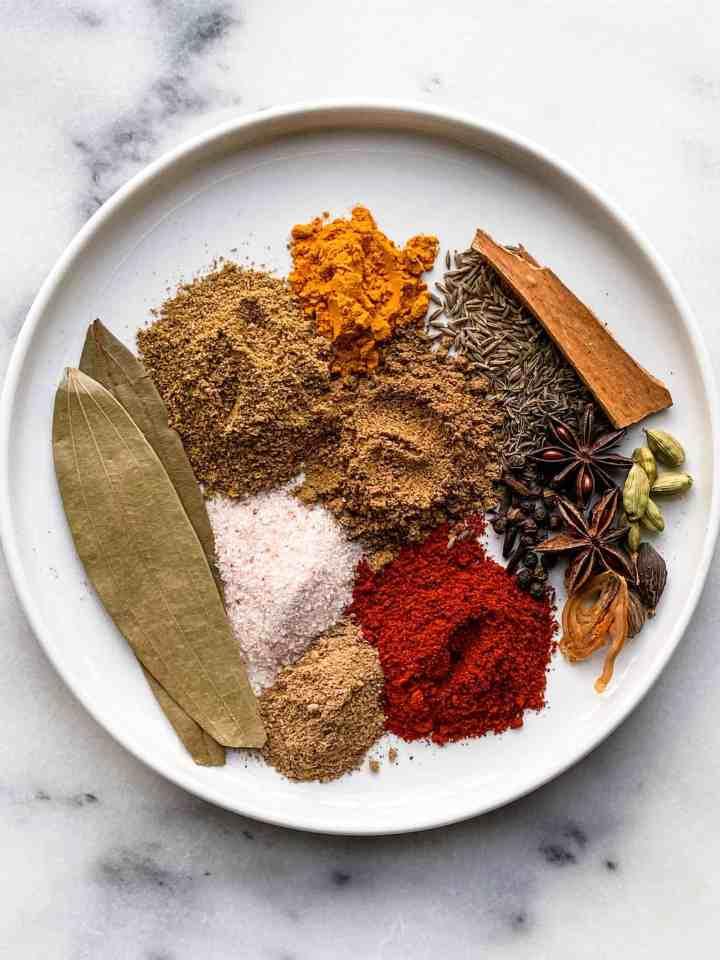 Biryani masala aka garam masala recipe.