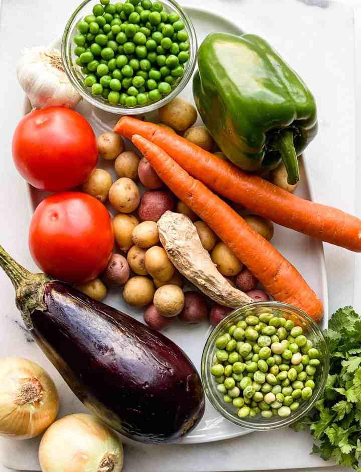 veg dum biryani step by step instructions.