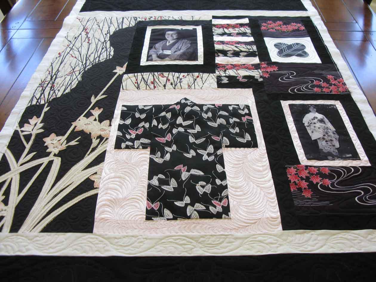 Antique Kimono Quilt