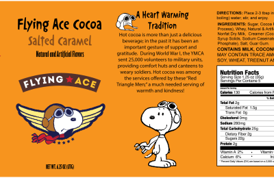 Flying Ace Cocoa – Salted Caramel Addition