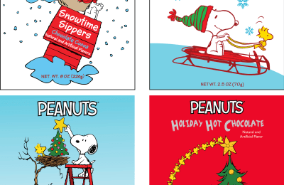 Peanuts Holiday Cocoa Designs
