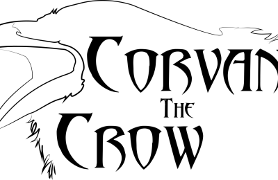 Corvan the Crow Logo