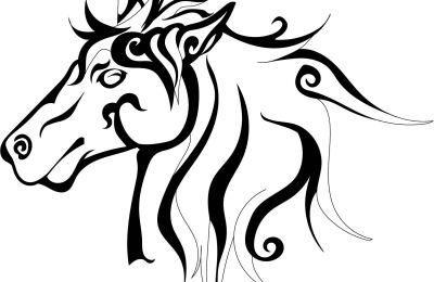 Tribal Horse Design