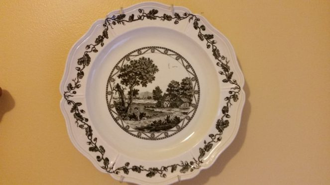 antique-black-transferware-plate