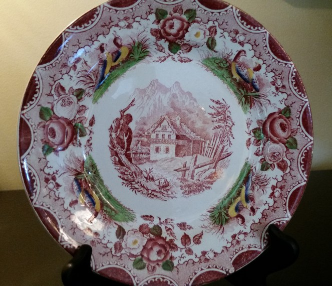 multi-colored-antique-transferware-plate