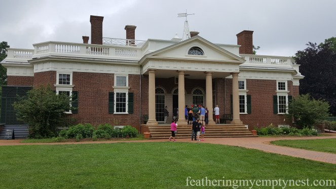 Entrance to Monticello on History Geeks' Tour of Monticello