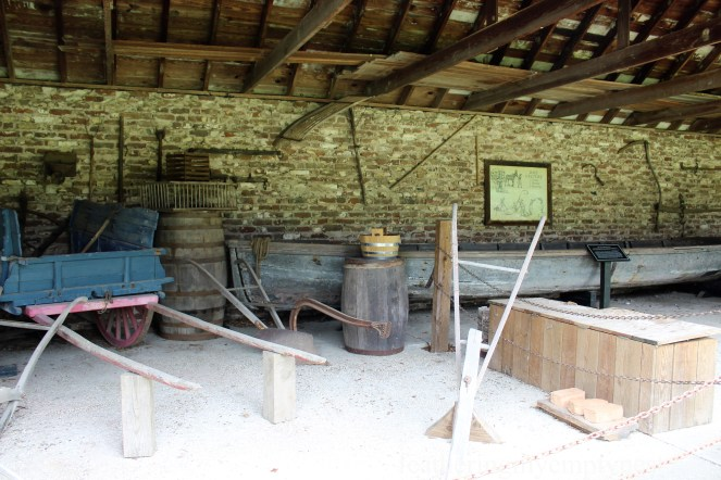 Early Farm Implements --Exploring The Enchanting Gardens Of Middleton Place