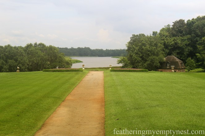 Central pathway that leads to the vista of the Ashley River --Exploring The Enchanting Gardens Of Middleton Place