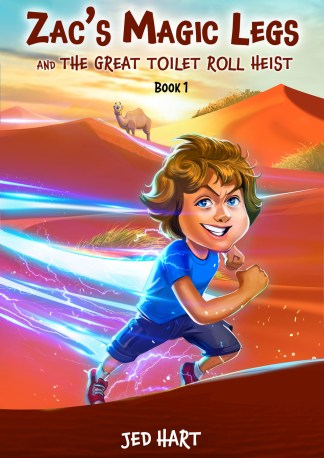 Zac's Magic Legs by Jed Hart, Publisher Feather Knight Books