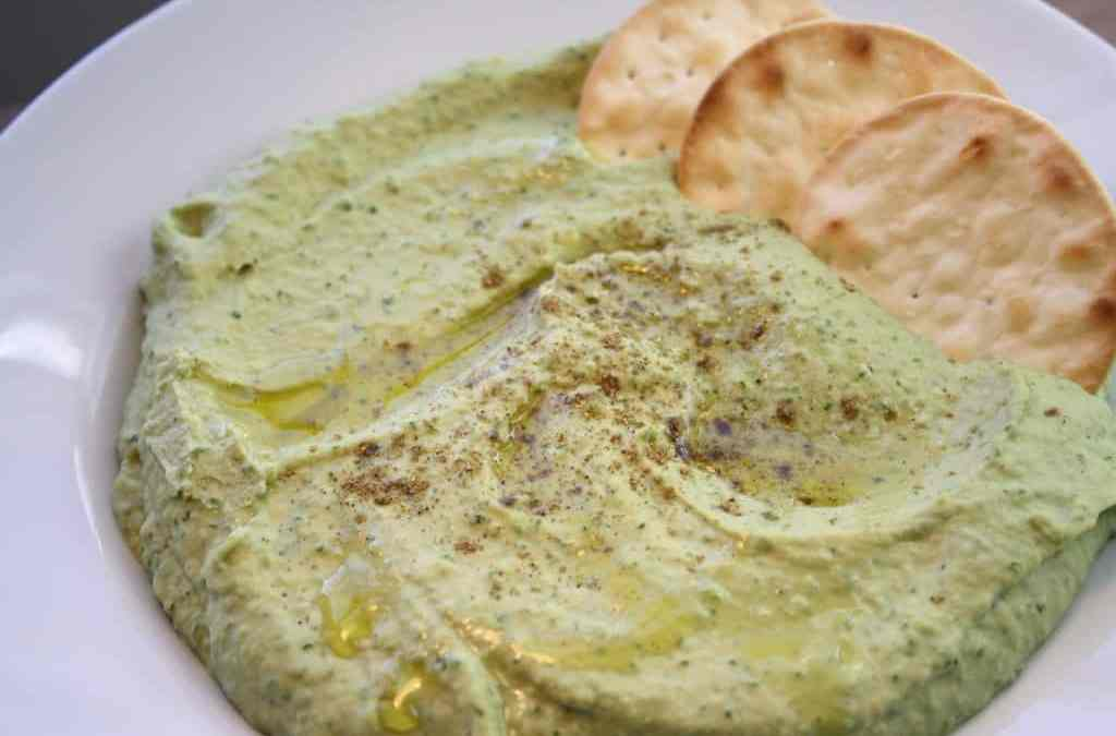 Chickpea and Kale Hummus