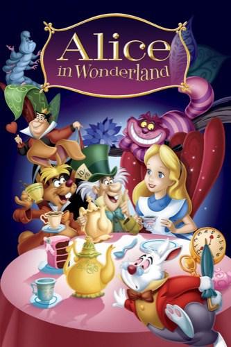 Alice In Wonderland 1951 movie poster