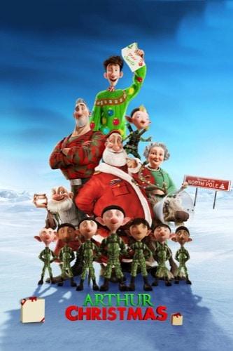 Arthur Christmas 2011 movie poster