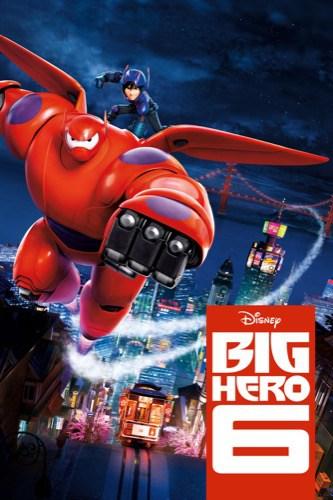 Big Hero 6 2014 movie poster