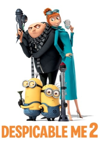 Despicable Me 2 2013 movie poster