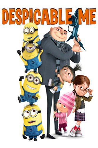 Despicable Me 2010 movie poster