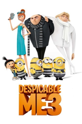 Despicable Me 3 2017 movie poster