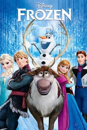 Frozen 2013 movie poster