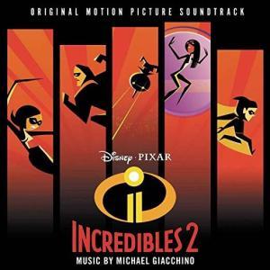 Incredibles 2 soundtrack album cover