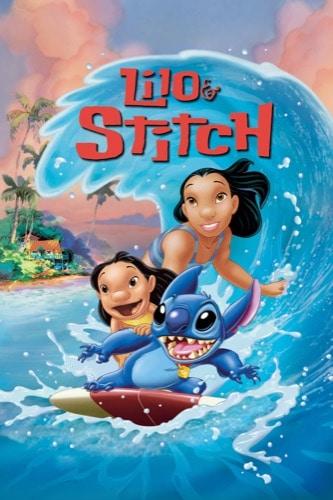 Lilo & Stitch 2002 movie poster