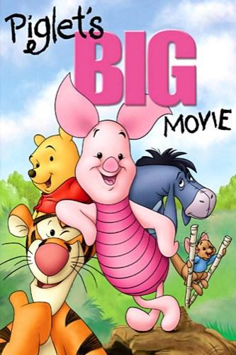 Piglets Big Movie 2003 movie poster
