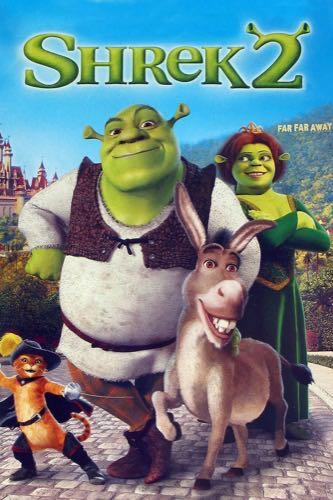 Shrek 2 2004 movie poster
