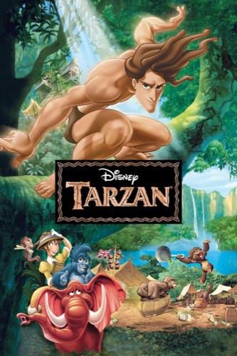 Tarzan 1999 movie poster
