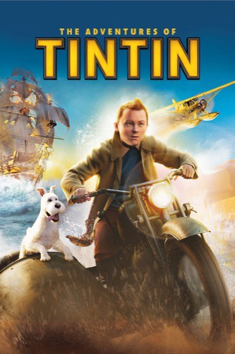 The Adventures of Tintin 2011 movie poster