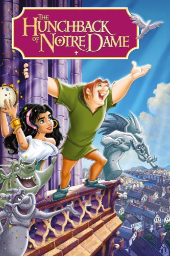 The Hunchback of Notre Dame 1996 movie poster