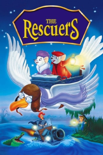 The Rescuers 1977 movie poster