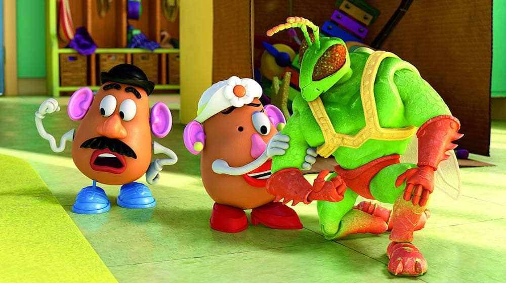 Toy Story 3 Mr. and Mrs. Potato Head