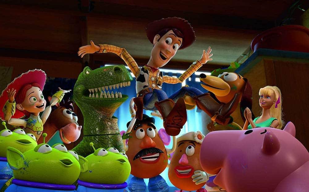 Toy Story 3 celebrate