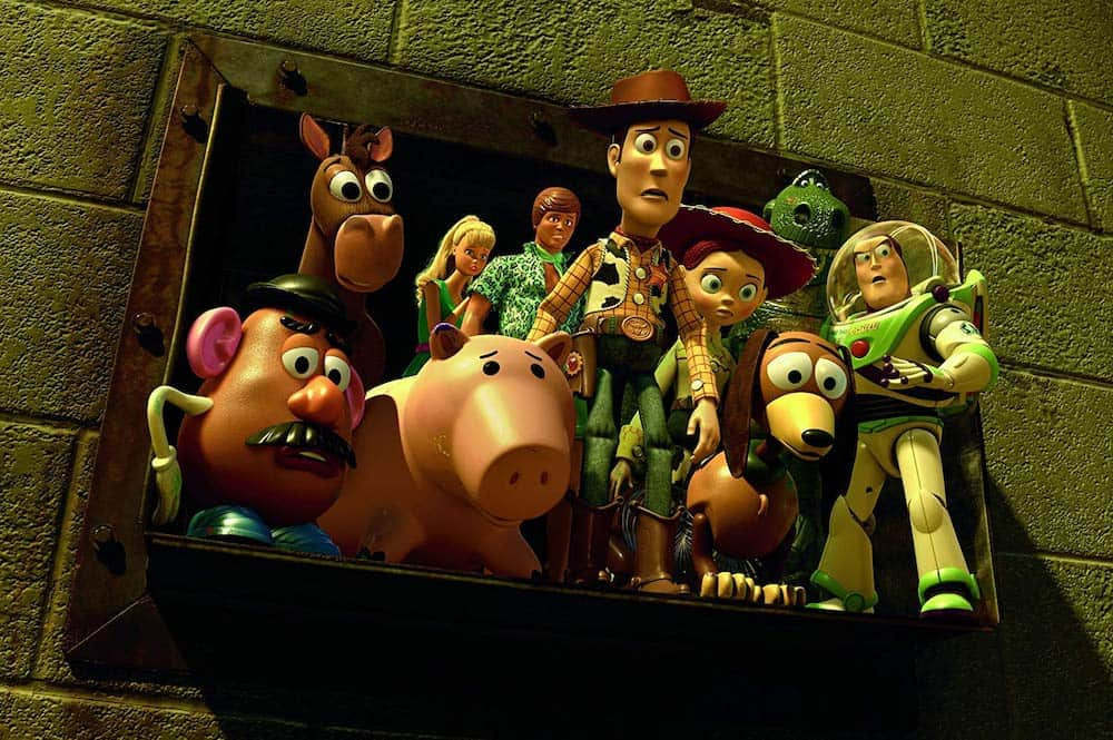 Toy Story 3 escape