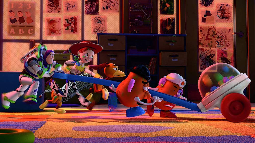 Toy Story 3 teamwork