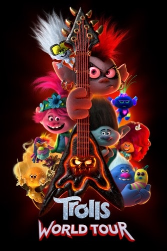 Trolls World Tour 2020 movie poster