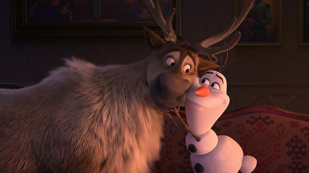 Frozen 2 Olaf and Sven