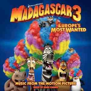 Madagascar 3 Europe's Most Wanted soundtrack album cover