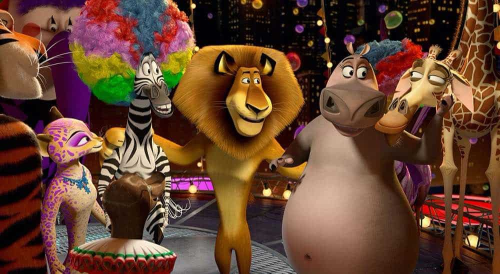 Madagascar 3 group of friends