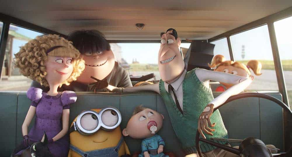 Minions Walter and Madge Wilson car ride