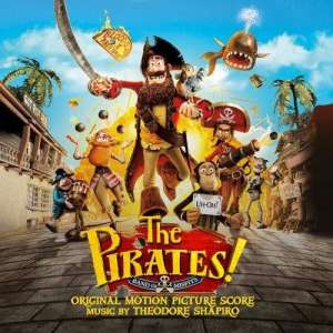The Pirates! Band of Misfits soundtrack album cover