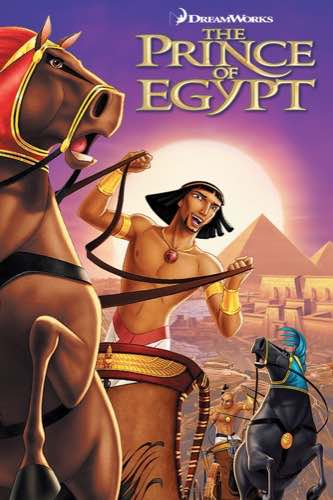 The Prince of Egypt 1998 movie poster