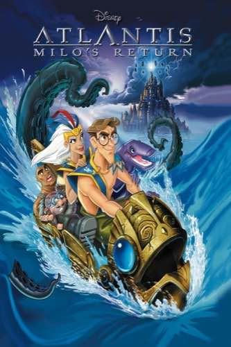 Atlantis Milo's Return 2003 movie poster